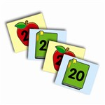 Two-Sided Calendar Cover-Ups Apple Book By Carson Dellosa