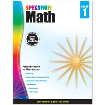Spectrum Math Gr 1, CD-704561