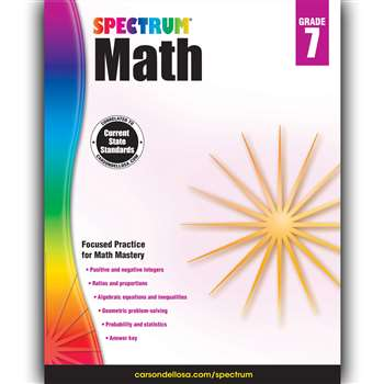 Spectrum Math Gr 7, CD-704567