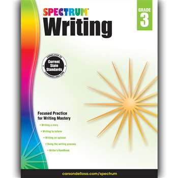 Spectrum Writing Gr 3, CD-704572