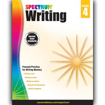 Spectrum Writing Gr 4, CD-704573