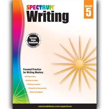 Spectrum Writing Gr 5, CD-704574