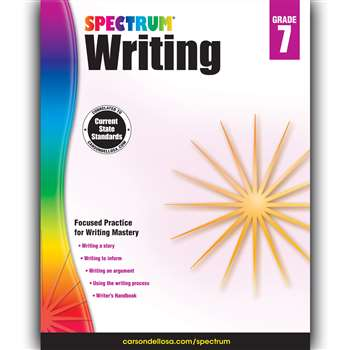 Spectrum Writing Gr 7, CD-704576