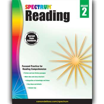 Spectrum Reading Gr 2, CD-704580