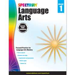 Spectrum Language Arts Gr 1, CD-704588