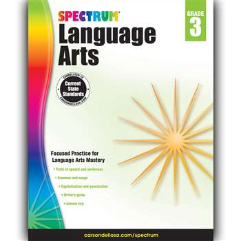 Spectrum Language Arts Gr 3, CD-704590
