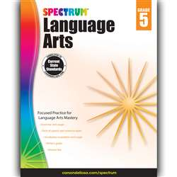 Spectrum Language Arts Gr 5, CD-704592