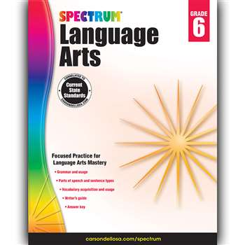 Spectrum Language Arts Gr 6, CD-704593