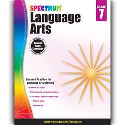 Spectrum Language Arts Gr 7, CD-704594