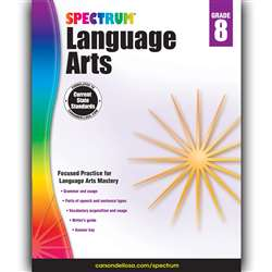Spectrum Language Arts Gr 8, CD-704595