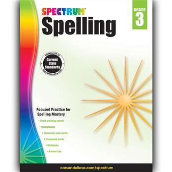 Spectrum Spelling Gr 3, CD-704599