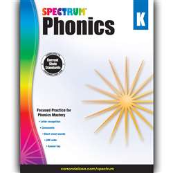 Spectrum Phonics Gr K, CD-704603