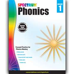 Spectrum Phonics Gr 1, CD-704604