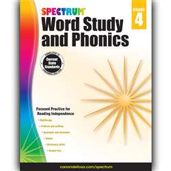 Spectrum Gr 4 Word Study And Phonics, CD-704607