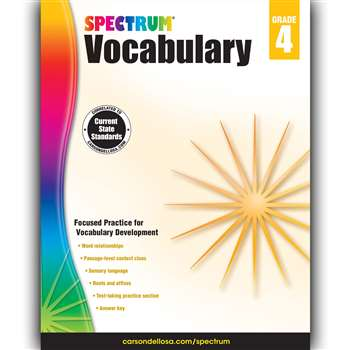 Spectrum Vocabulary Gr 4, CD-704611