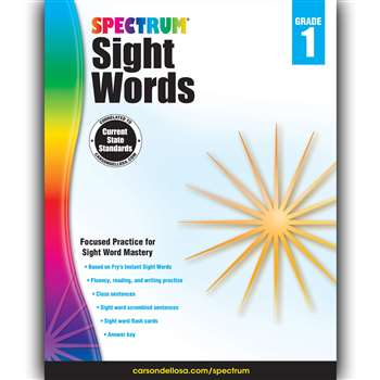 Spectrum Sight Words Gr 1, CD-704615