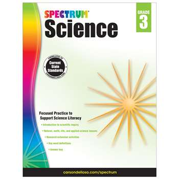 Spectrum Science Gr 3, CD-704616