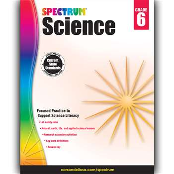 Spectrum Science Gr 6, CD-704619