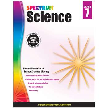 Spectrum Science Gr 7, CD-704620