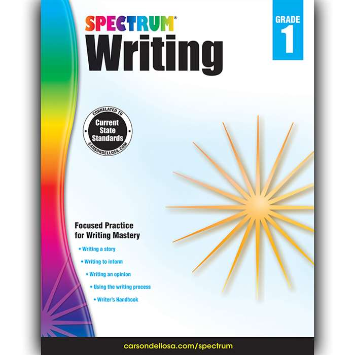 Spectrum Writing Gr 1, CD-704624