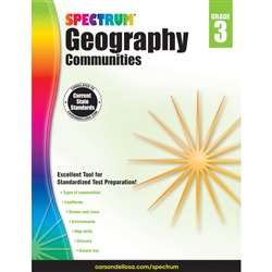 Spectrum Geography Communities Gr 3, CD-704658