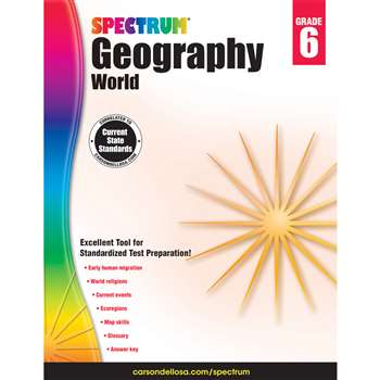 Spectrum Geography World Gr 6, CD-704661