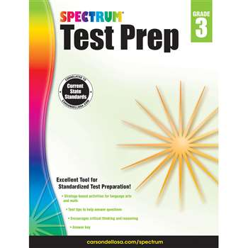 Spectrum Test Prep Gr 3, CD-704683