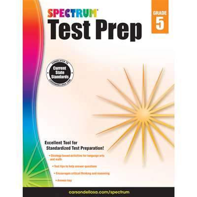 Spectrum Test Prep Gr 5, CD-704685