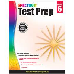 Spectrum Test Prep Gr 6, CD-704686