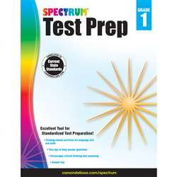 Spectrum Test Prep Gr 1, CD-704687
