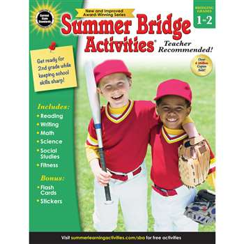 Summer Bridge Activities Gr 1-2, CD-704697