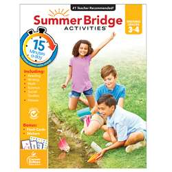 Summer Bridge Activities Gr 3-4, CD-704699