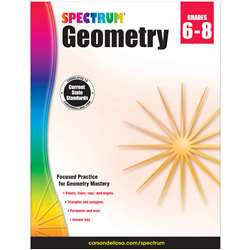 Spectrum Geometry Gr 6-8, CD-704704