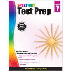 Spectrum Test Prep Gr 7, CD-704869