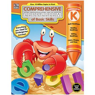 Gr K Comprehensive Curriculum Of Basic Skills, CD-704893