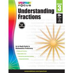 Spectrum Understanding Fractions Gr 3, CD-704900