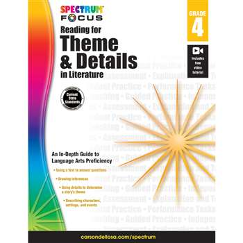 "Spectrum Reading Theme & Details "" Literature Gr , CD-704906"