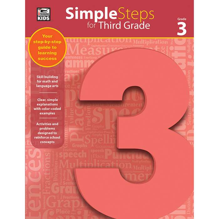 Simple Steps For Third Grade, CD-704916