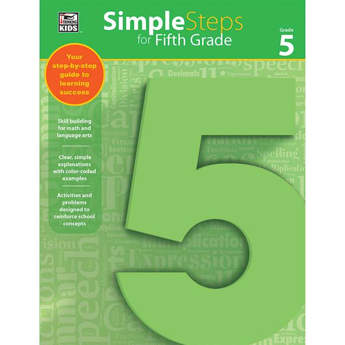 Simple Steps For Fifth Grade, CD-704918