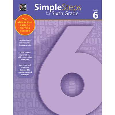 Simple Steps For Sixth Grade, CD-704919