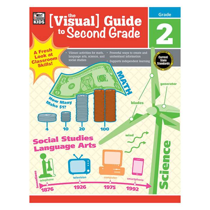 Visual Guide To Second Gr, CD-704926