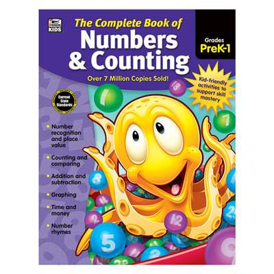 Complete Book Of Numbers & Counting, CD-704933