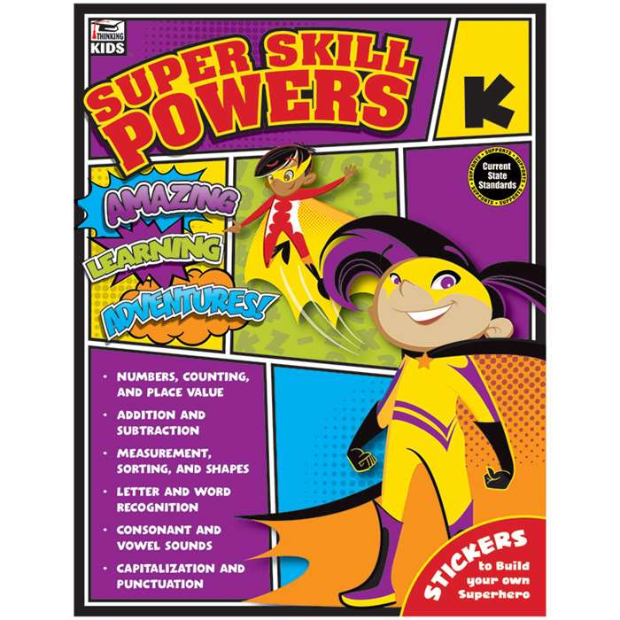 Super Skill Powers Gr K, CD-704936