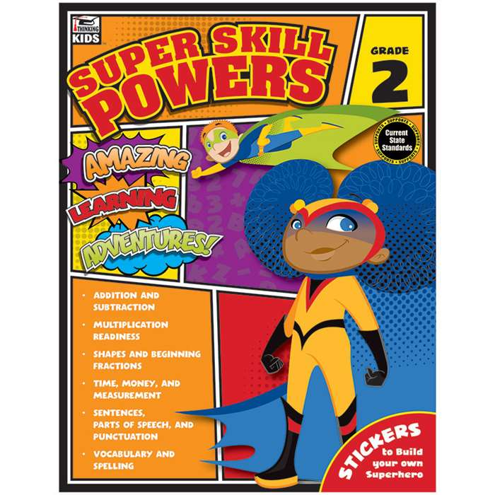 Super Skill Powers Gr 2, CD-704938