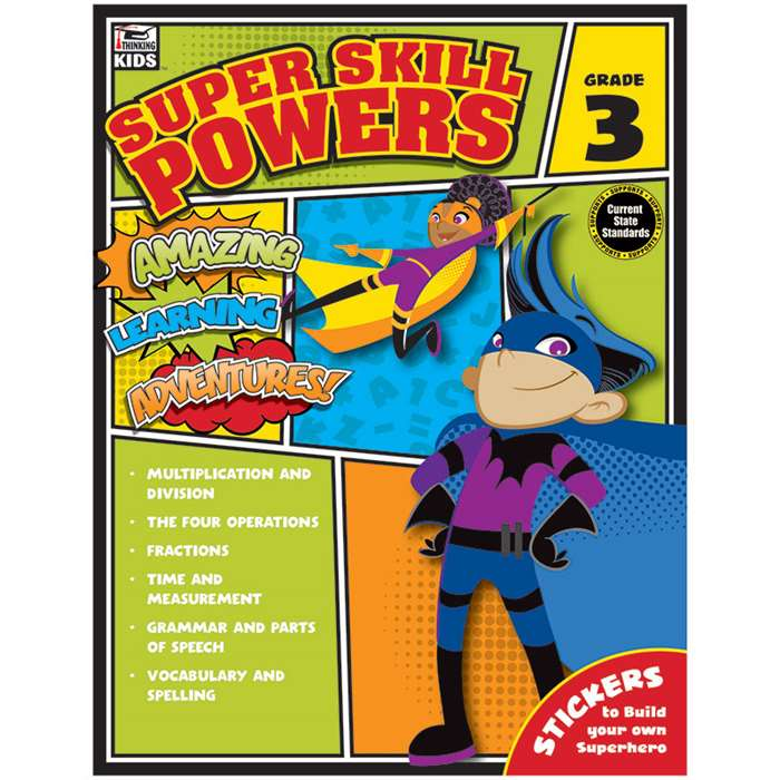 Super Skill Powers Gr 3, CD-704939