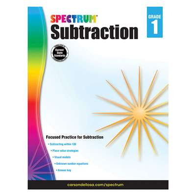 Subtraction Gr 1, CD-704978
