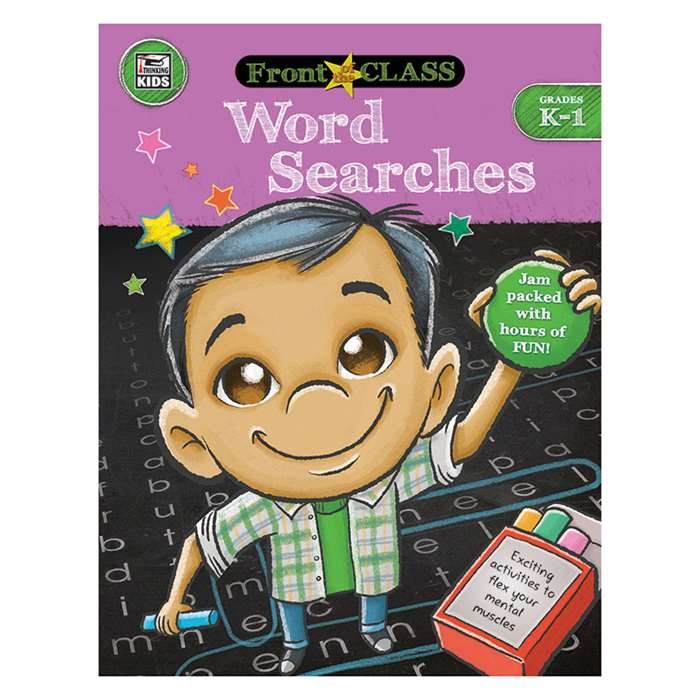 Word Searches Gr K-1, CD-704994