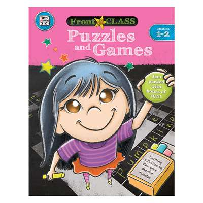 Puzzles And Games Gr 1-2, CD-704995
