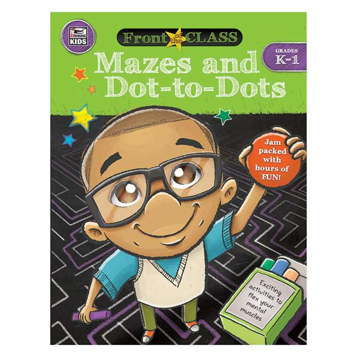 Mazes And Dot-To-Dots Gr K-1, CD-704996
