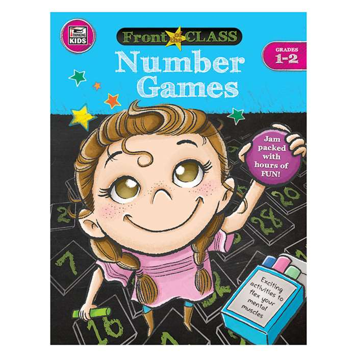 Number Games Gr 1-2, CD-704997